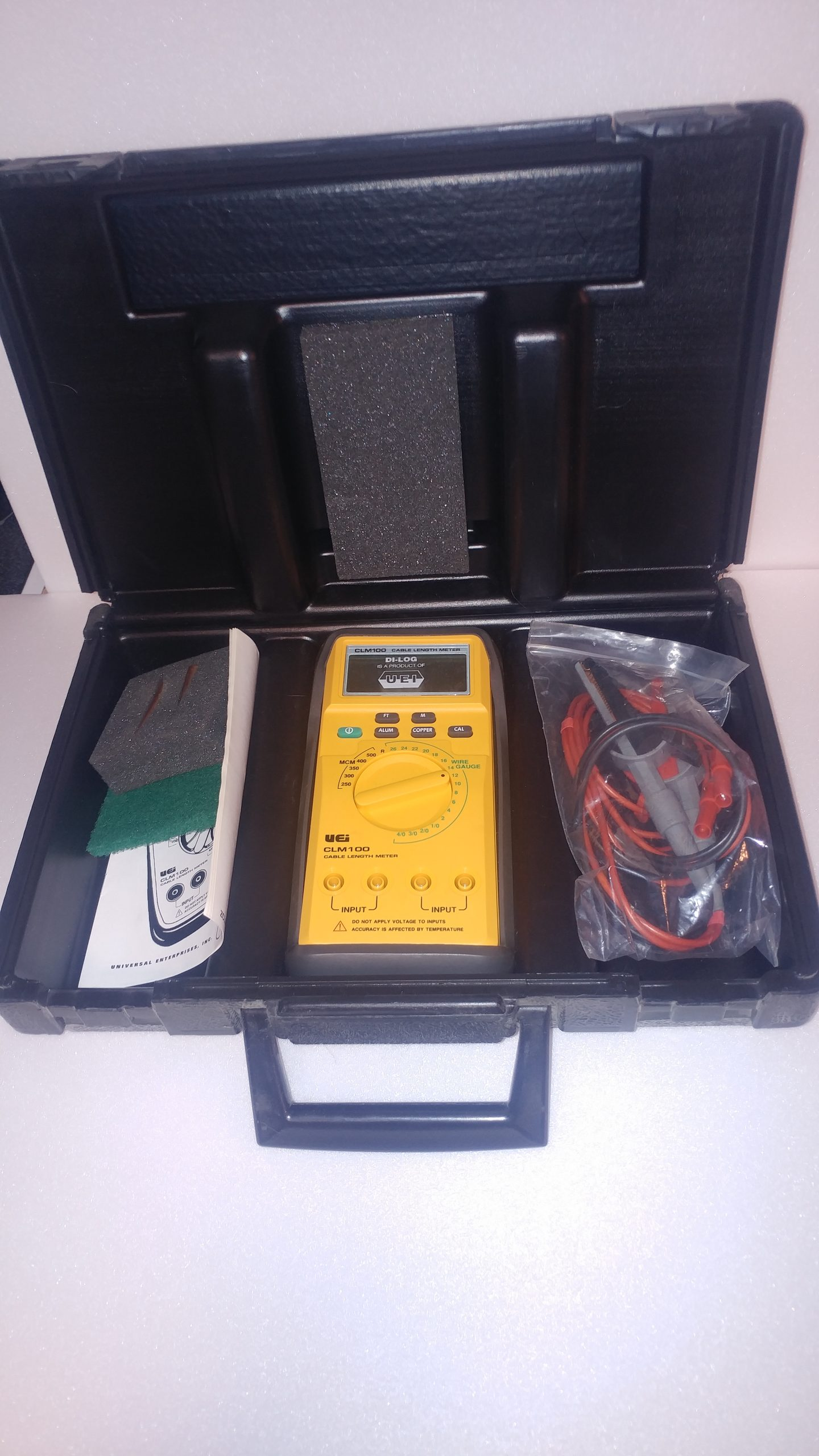 UEI model CLM100 Cable Length Meter